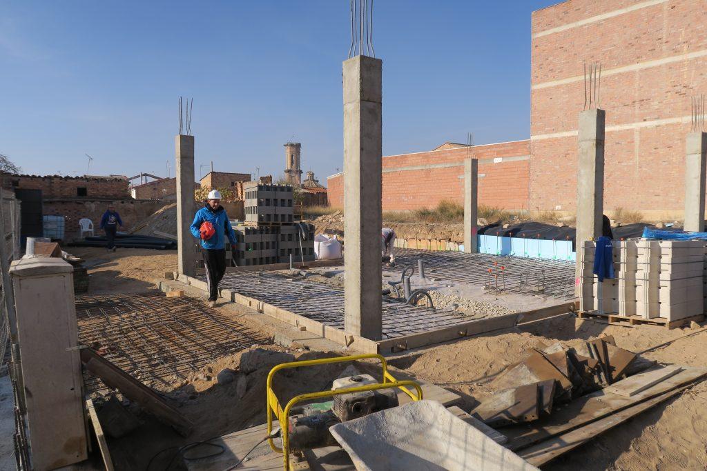 Casa unifamiliar en zaidin estructura hormigón