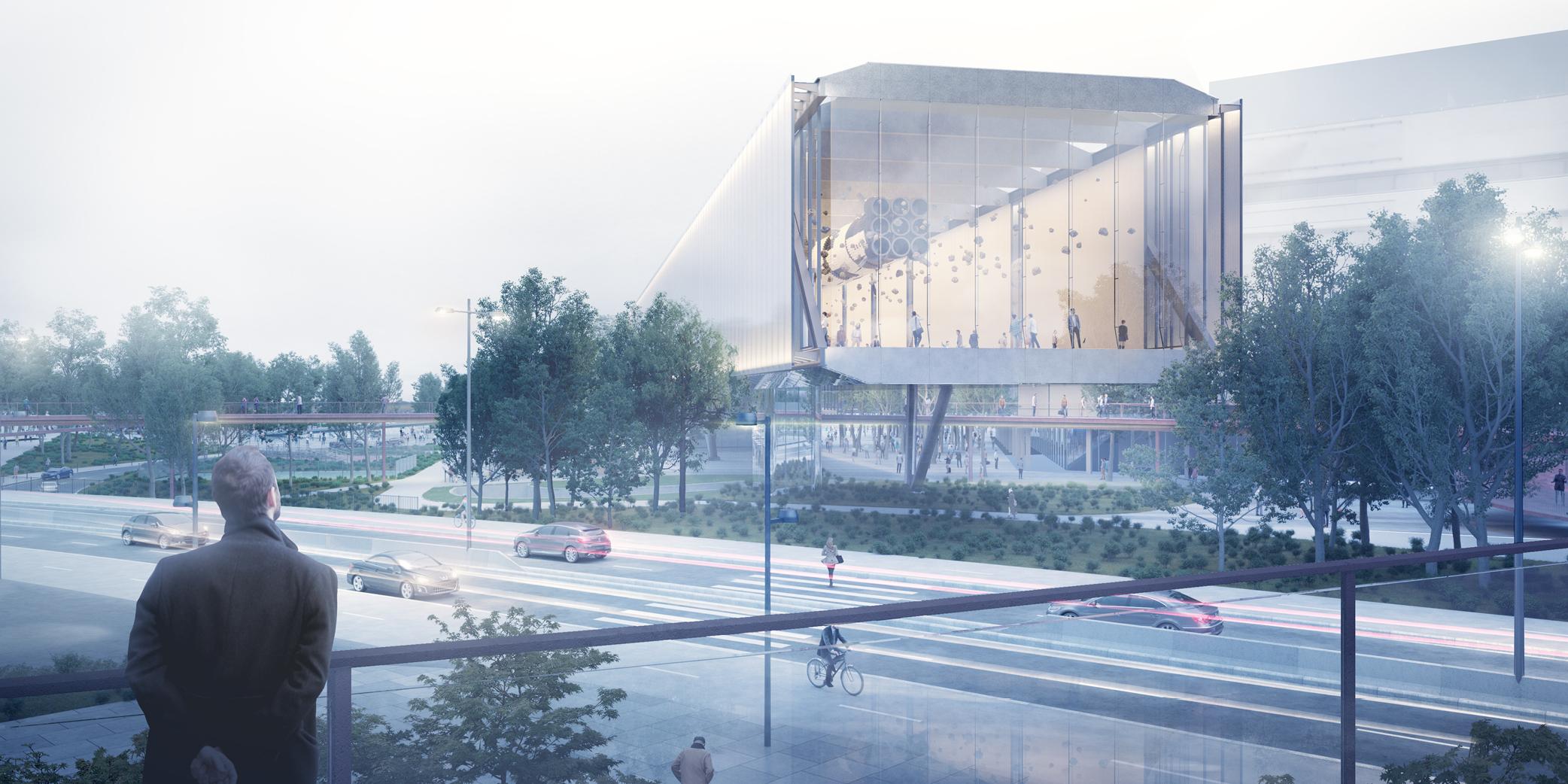 OCA architects new KCP