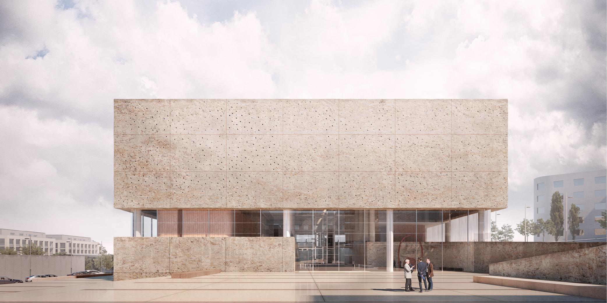 Concurso Juzgados Fuerteventura Puerto del Rosario OCA architects Barcelona6