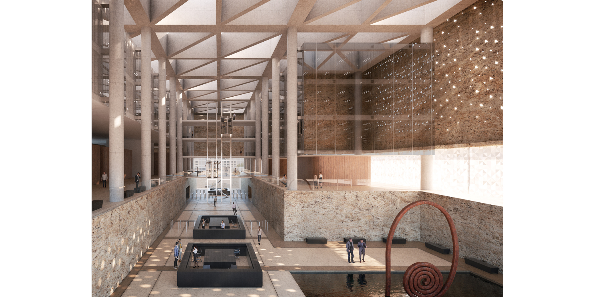 Concurso Juzgados Fuerteventura Puerto del Rosario OCA architects Barcelona7