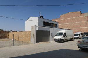 OCA architects Barcelona Casa unifamiliar vivienda aislada en Zaidín Fraga Lleida Huesca Hernan Lleida Ruiz arquitecto (10)
