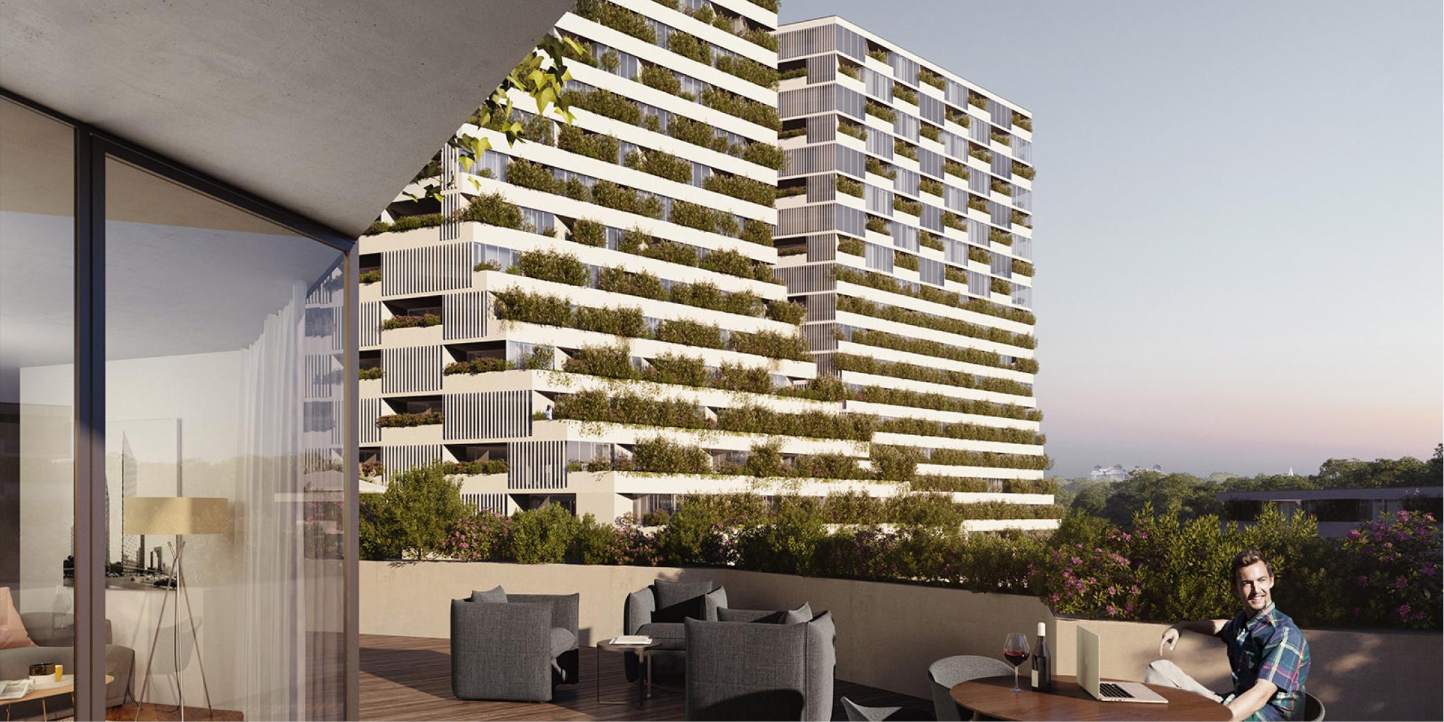 OCA architects Barcelona Prague House of Arboretum residential housing project Hernan Lleida Ruiz Bernardo Garcia Morales3