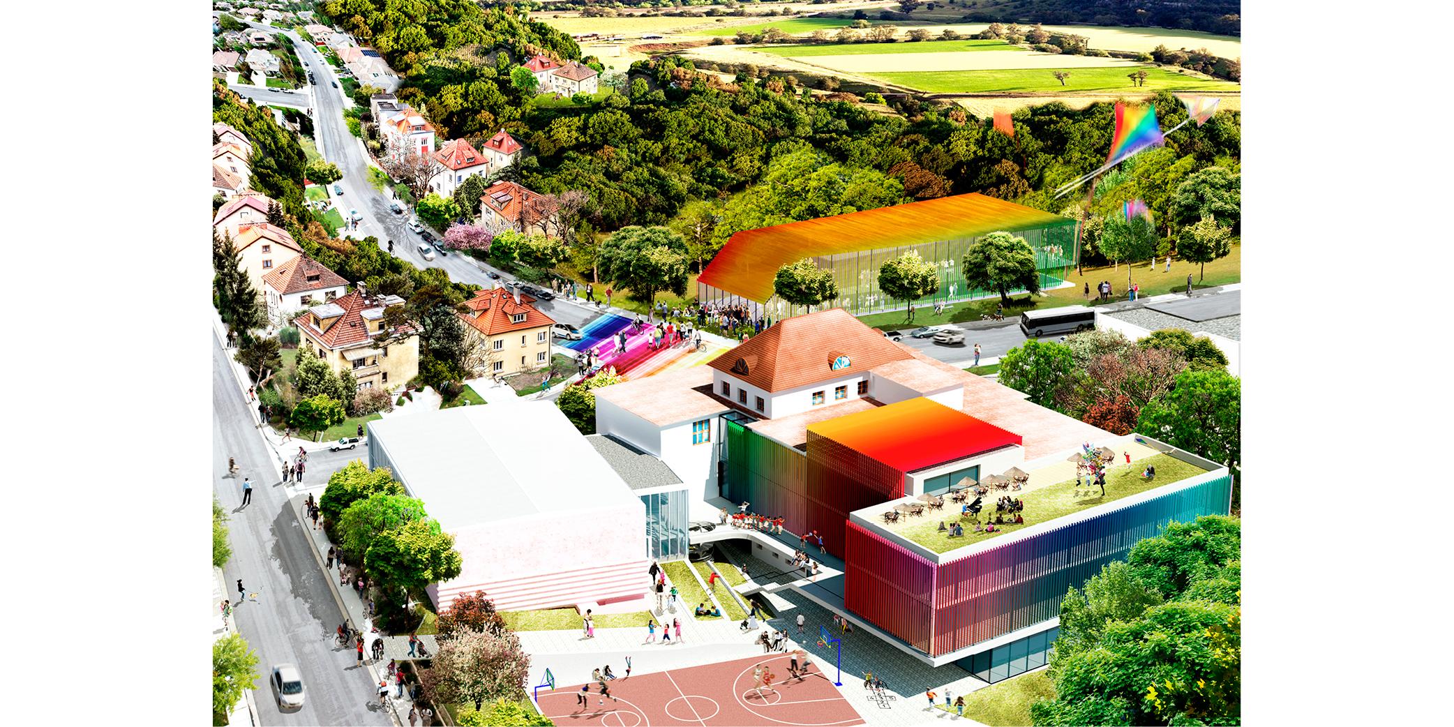 OCA architects Barcelona Trojska school Prague Hernan Lleida Ruiz Bernardo Garcia Morales8