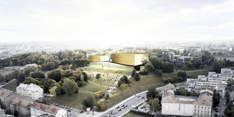 OCA architects Barcelona Prague Tautos Namai architecture competition Lithuania National Concert hall Vilnius Hernan Lleida Ruiz Bernardo Garcia Morales3