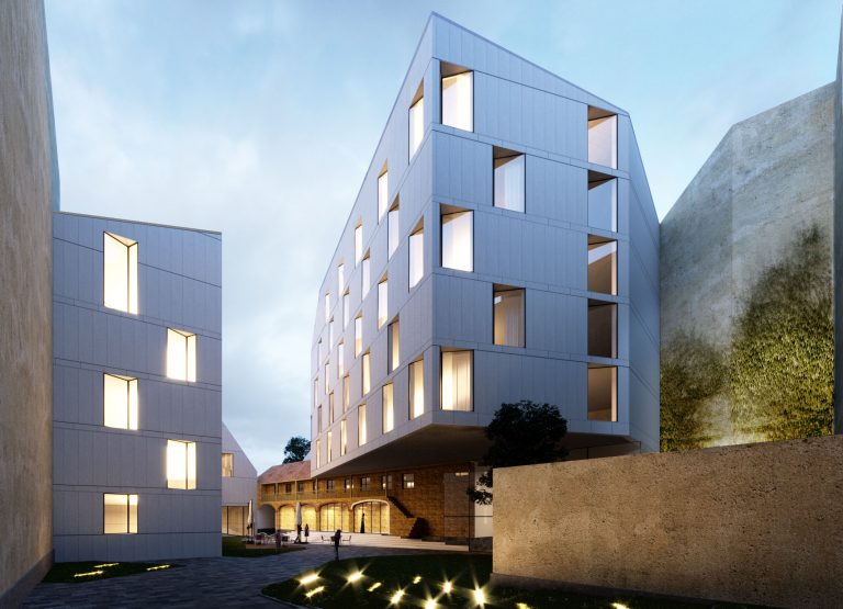 OCA architects & CMC architects residential housing Prague Hernan Lleida Bernardo Garcia