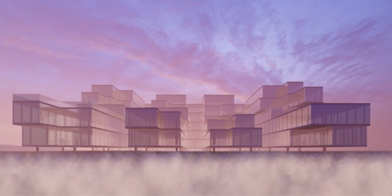 OCA architects Barcelona Prague Brno Black fields NUKIB KIB architecture competition Hernan Lleida Ruiz Bernardo Garcia Morales (2)3