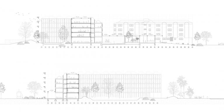 OCA architects arquitecto arquitectura Barcelona nueva facultad ciencias de la salud universidad Alicante Hernan Lleida Ruiz Bernardo Garcia Morales14