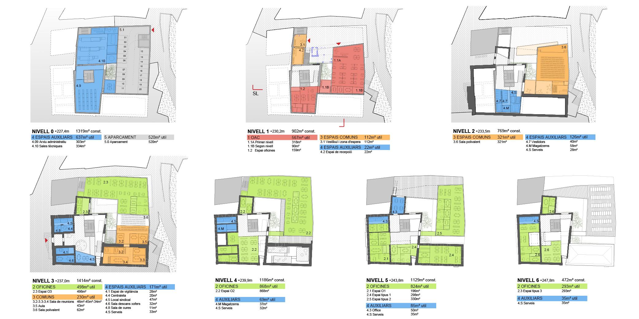 OCA architects & MIPMARI concurs arquitectura Nova Seu Generalitat Manresa Hernan Lleida Ruiz Bernardo Garcia Morales6