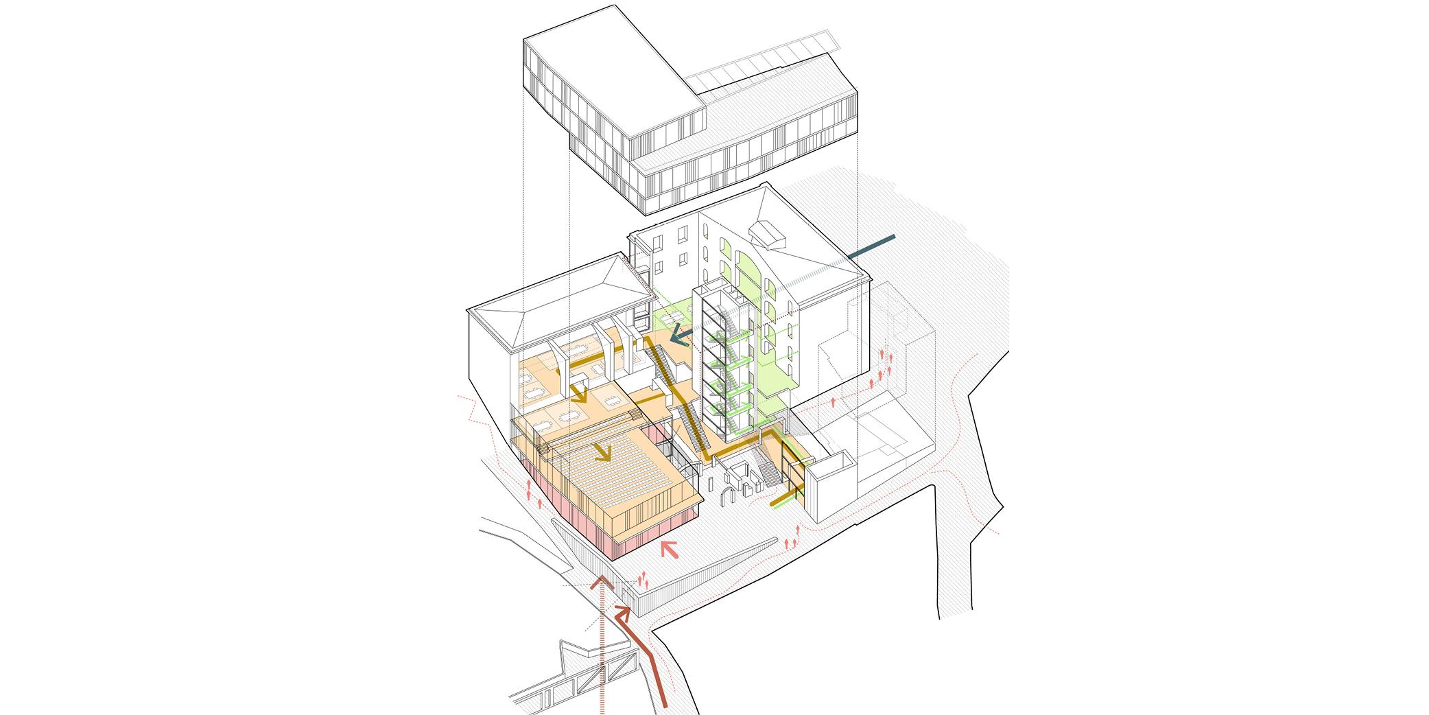 OCA architects & MIPMARI concurs arquitectura Nova Seu Generalitat Manresa Hernan Lleida Ruiz Bernardo Garcia Morales8