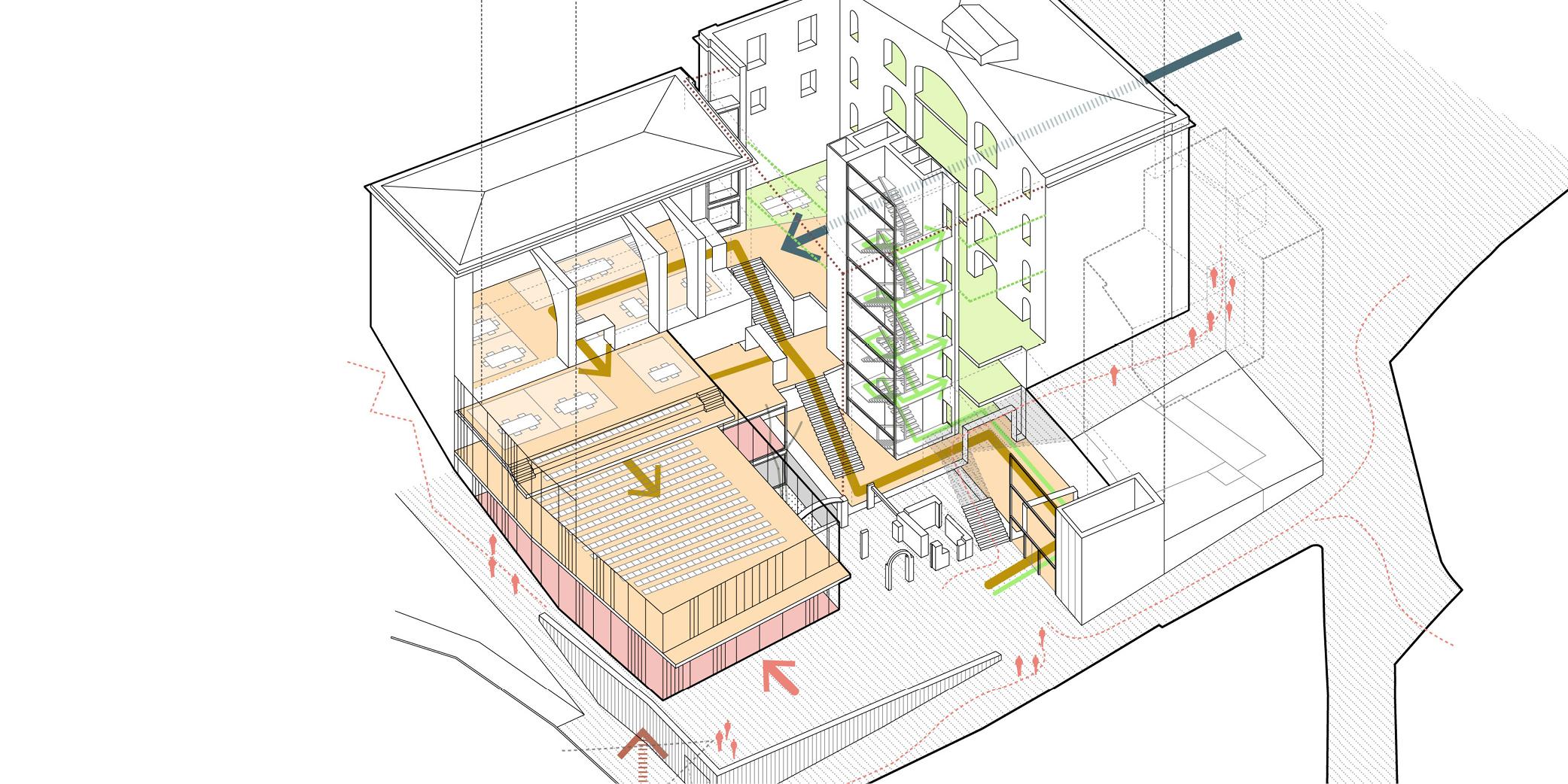 OCA architects & MIPMARI concurs arquitectura Nova Seu Generalitat Manresa Hernan Lleida Ruiz Bernardo Garcia Morales9