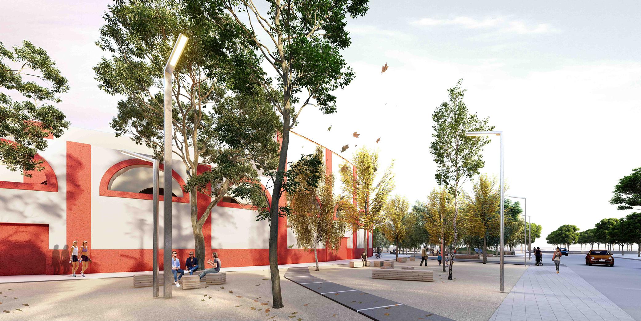 OCA architects concurso arquitectura urbanizacion entorno plaza de toros de Alcazar de San Juan Hernan Lleida Ruiz Bernardo Garcia Morales Oscar Berbel23