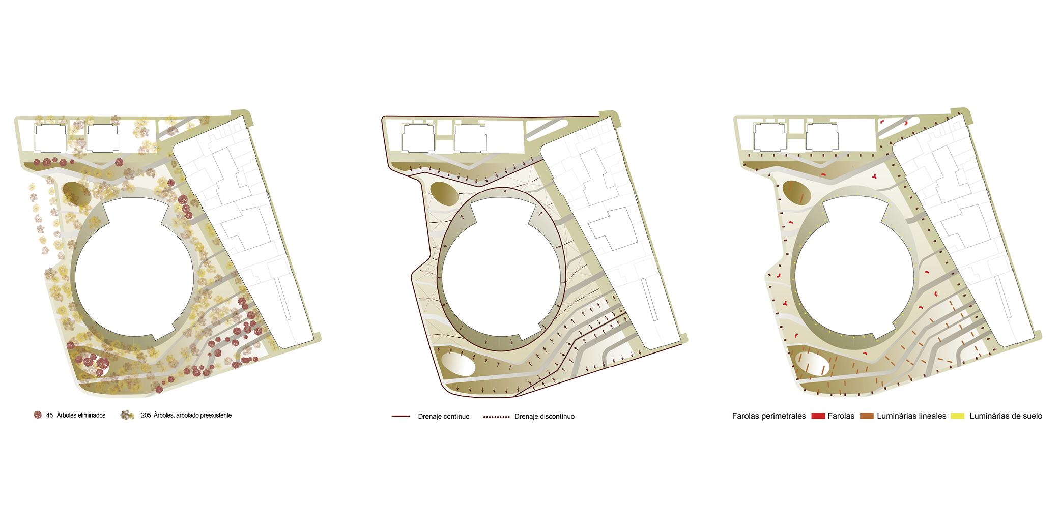 OCA architects concurso arquitectura urbanizacion entorno plaza de toros de Alcazar de San Juan Hernan Lleida Ruiz Bernardo Garcia Morales Oscar Berbel9
