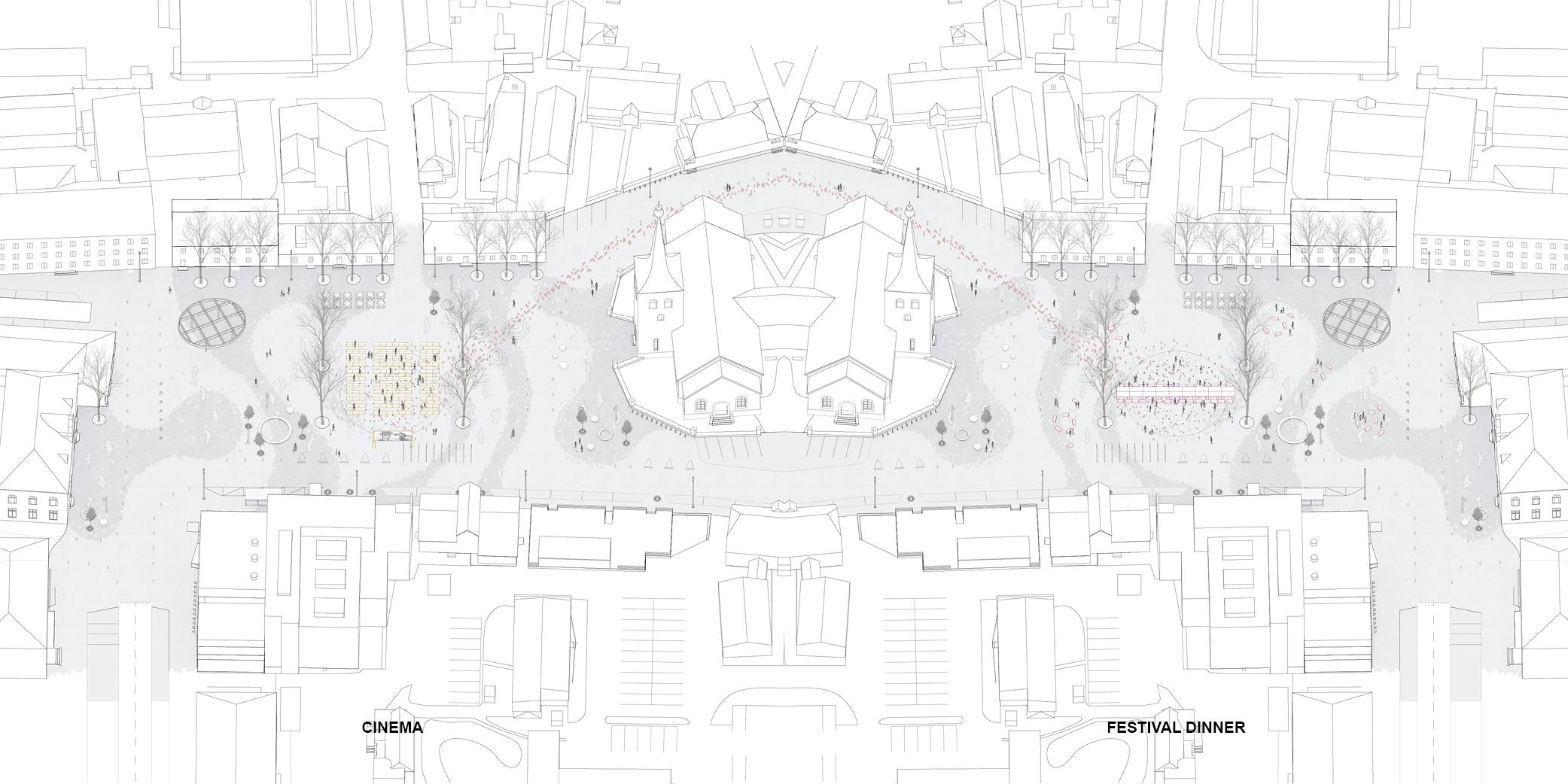 OCA architects urban architecture competition Paide Central Paide keskvaljaku arhitektuurivoistluse Hernan Lleida Ruiz Bernardo Garcia Morales Linn Nagel_web16