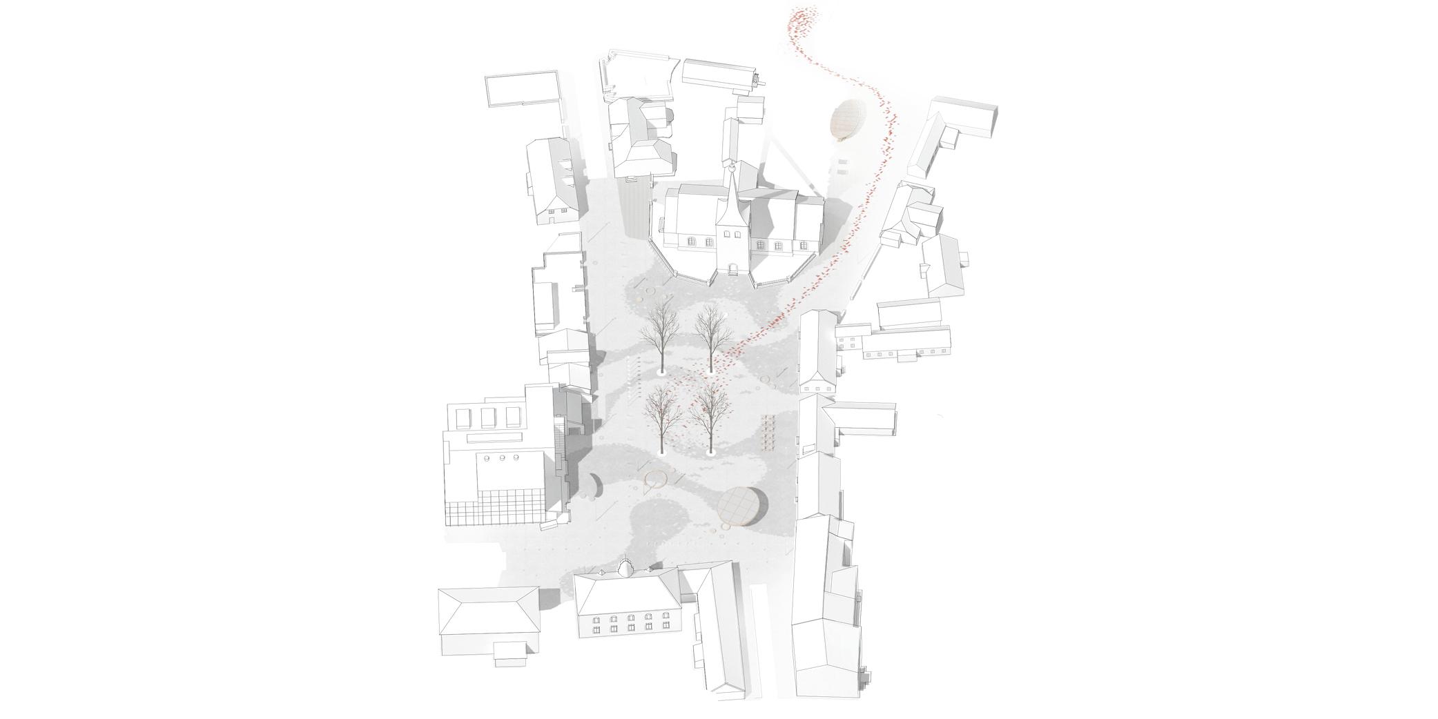 OCA architects urban architecture competition Paide Central Paide keskvaljaku arhitektuurivoistluse Hernan Lleida Ruiz Bernardo Garcia Morales Linn Nagel_web17