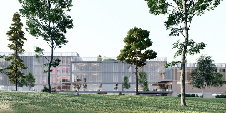 OCA architects New Elementary School and Kindergarten for - Nová ZŠ a MŠ pro - Dolní Měcholupy Hernan Lleida Ruiz Bernardo Garcia Morales3