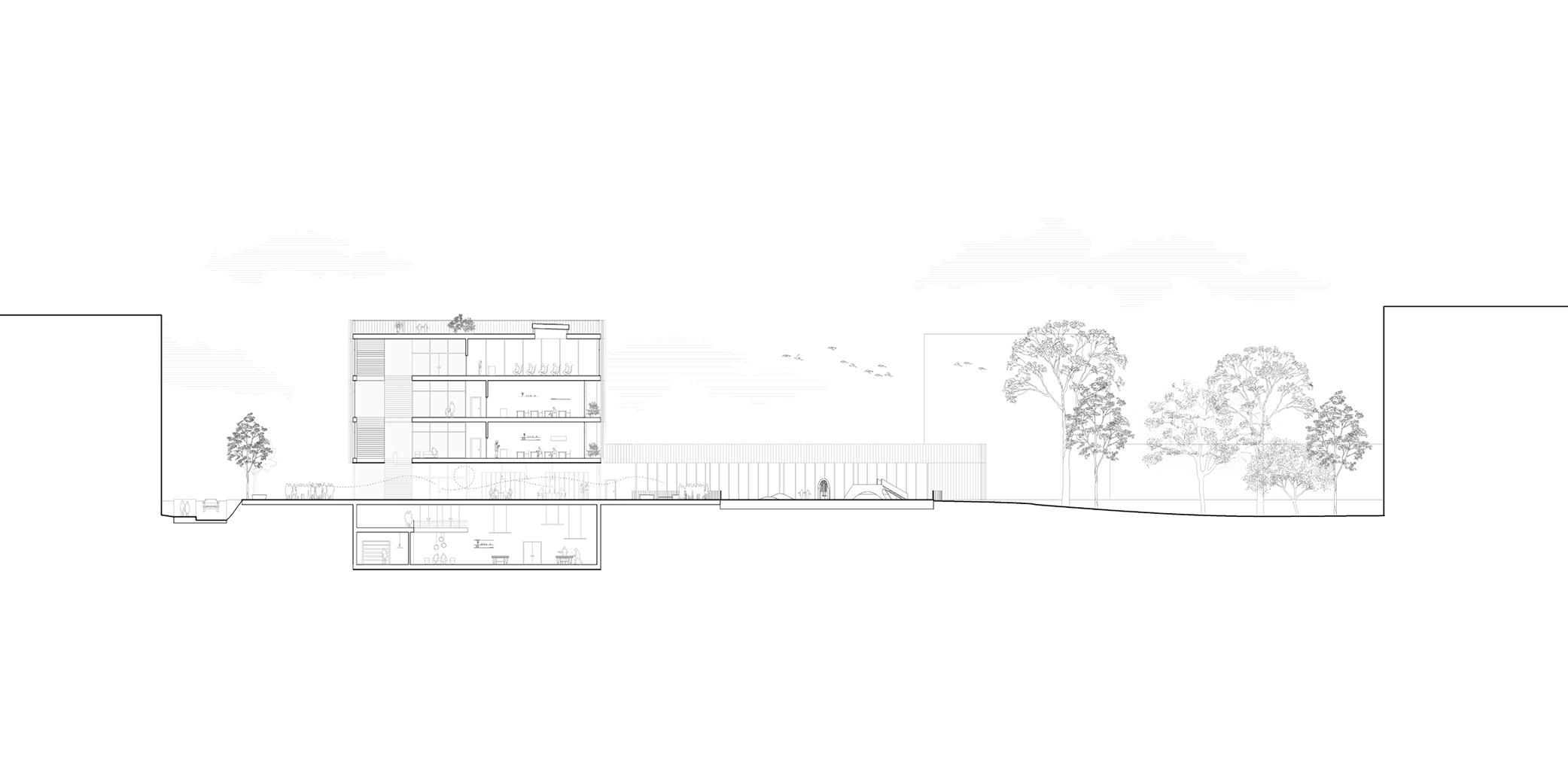 OCA architects New Elementary School and Kindergarten for - Nová ZS a MS pro - Dolní Měcholupy Hernan Lleida Ruiz Bernardo Garcia Morales23
