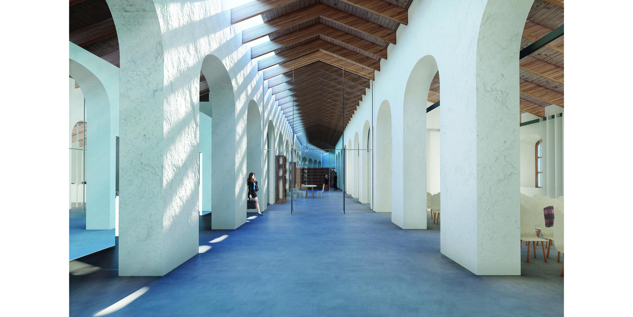 OCA architects Terradas arquitectos concurso museo militar archivo ceuta Hernan Lleida Ruiz Bernardo Garcia Morales Oscar Berbel4