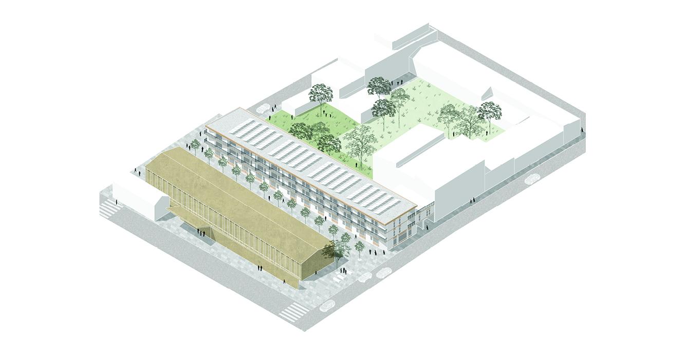 OCA architects competition viviendas de protección pública en Palma y Marratxí Hernan Lleida Bernardo Garcia Eduard Mosieienkov Yana Stepankova