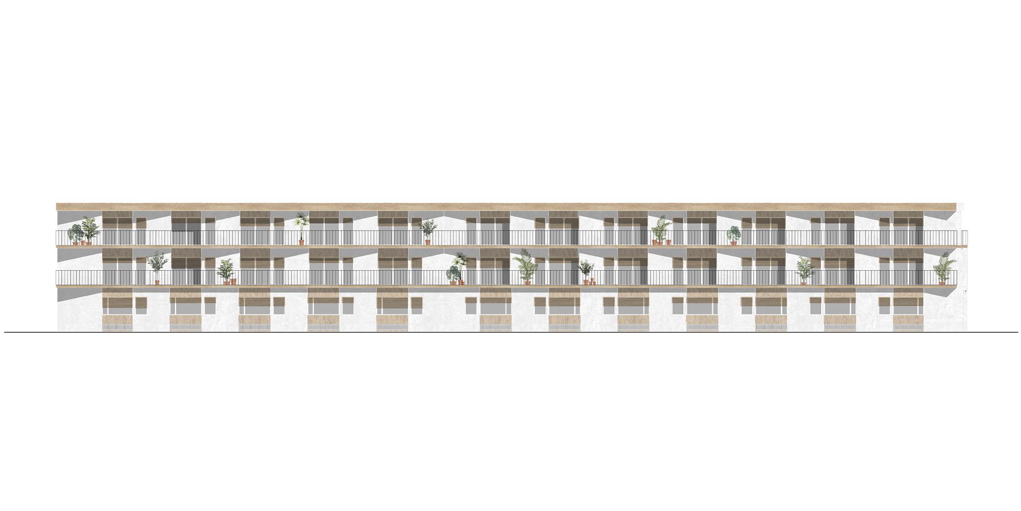 OCA architects competition viviendas de protección pública en Palma y Marratxí Hernan Lleida Bernardo Garcia Eduard Mosieienkov Yana Stepankova2