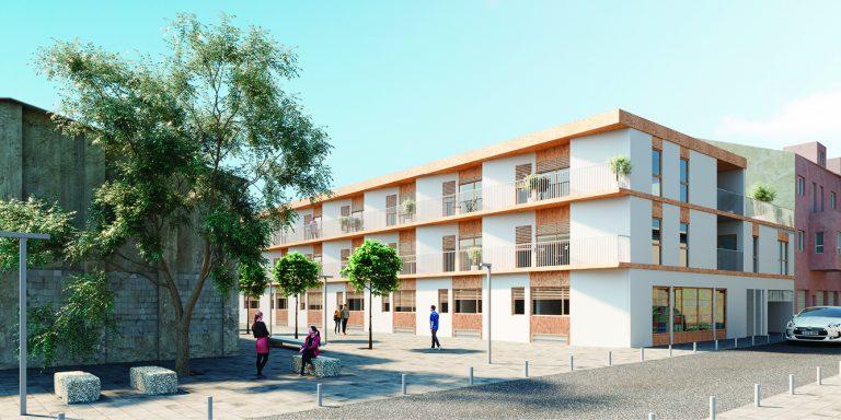 OCA architects competition viviendas de protección pública en Palma y Marratxí Hernan Lleida Bernardo Garcia Eduard Mosieienkov Yana Stepankova3