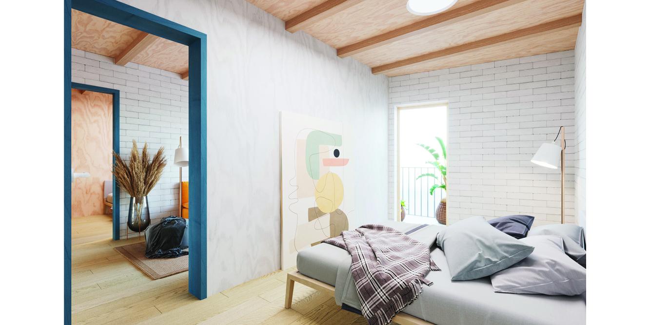 OCA architects competition viviendas de protección pública en Palma y Marratxí Hernan Lleida Bernardo Garcia Eduard Mosieienkov Yana Stepankova4