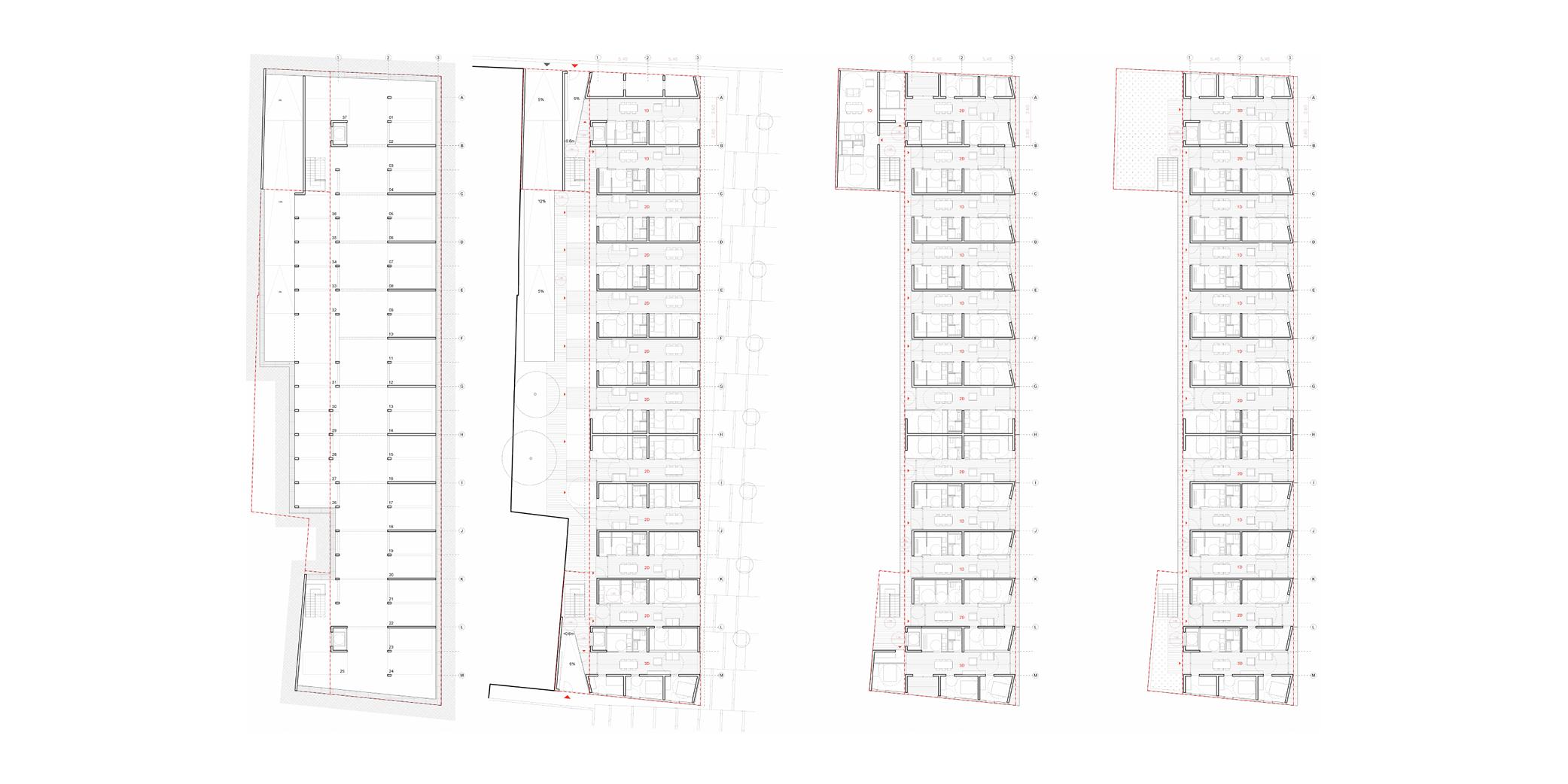 OCA architects competition viviendas de protección pública en Palma y Marratxí Hernan Lleida Bernardo Garcia Eduard Mosieienkov Yana Stepankova7