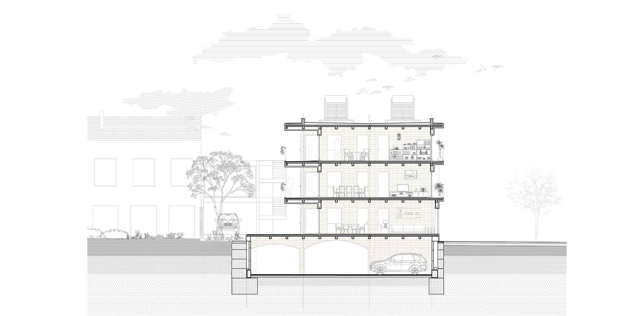 OCA architects competition viviendas de protección pública en Palma y Marratxí Hernan Lleida Bernardo Garcia Eduard Mosieienkov Yana Stepankova8