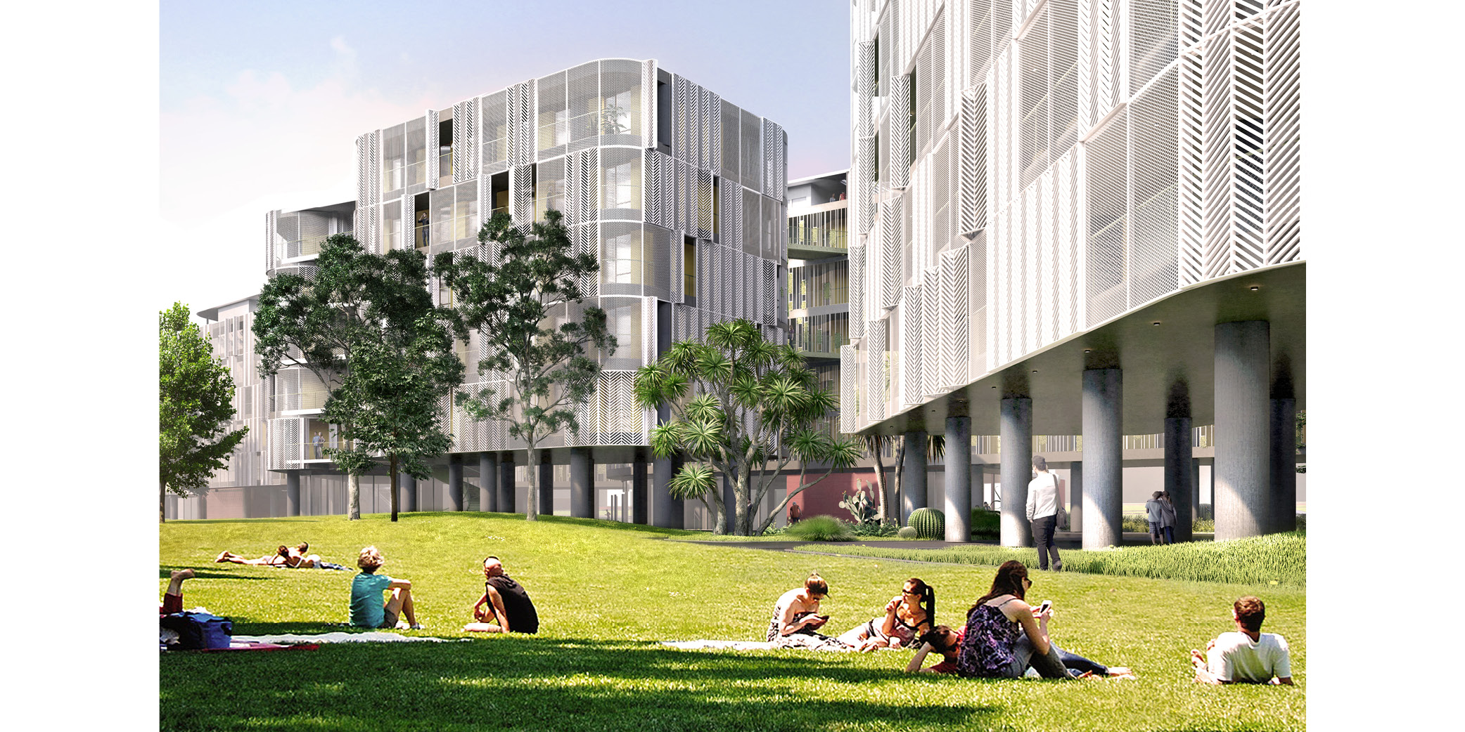 OCA architects Dormitories of the Cyprus University of Technology in Limassol - Κοιτώνες Κύπρος Λεμεσός Hernan Lleida Ruiz Bernardo Garcia Morales 0