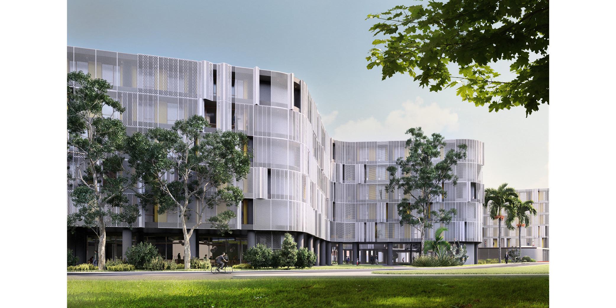 OCA architects Dormitories of the Cyprus University of Technology in Limassol - Κοιτώνες Κύπρος Λεμεσός Hernan Lleida Ruiz Bernardo Garcia Morales