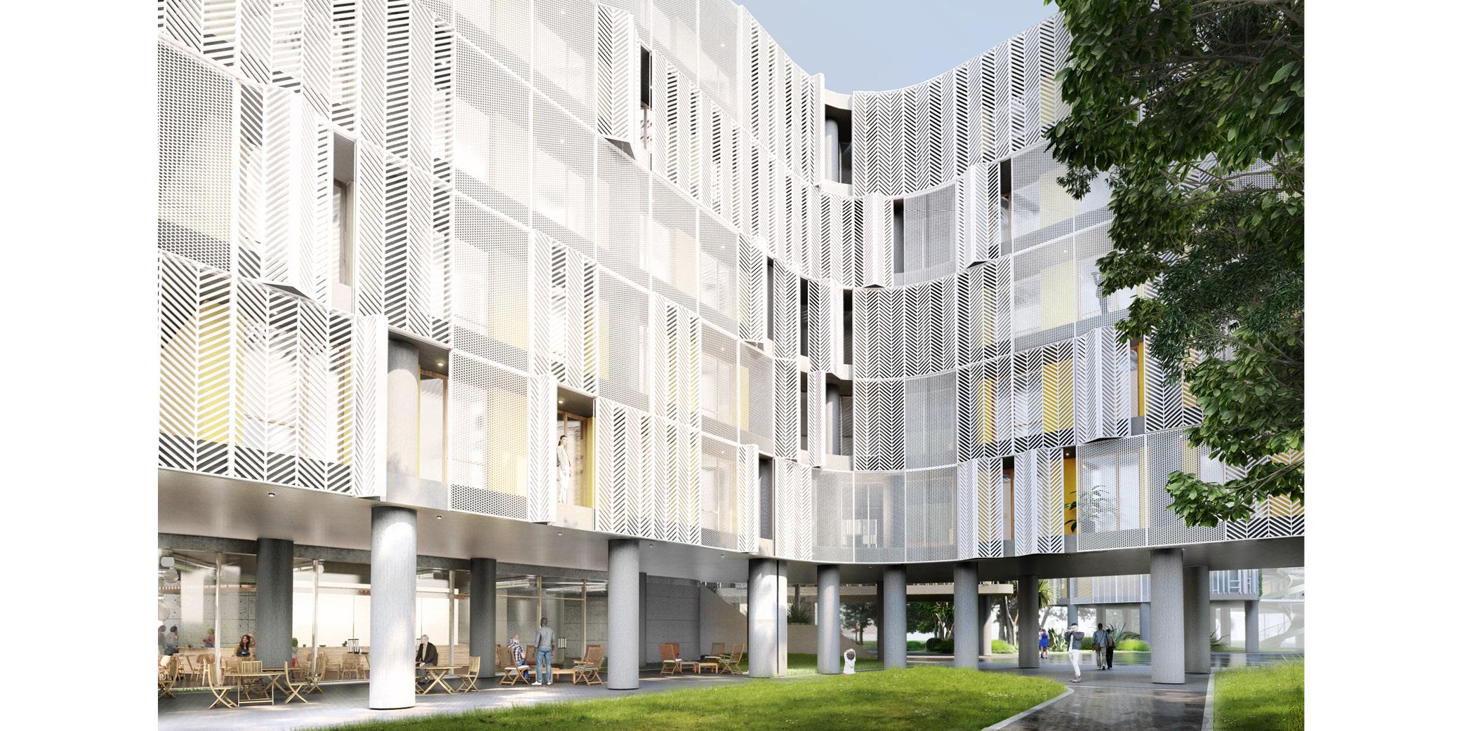 OCA architects Dormitories of the Cyprus University of Technology in Limassol - Κοιτώνες Κύπρος Λεμεσός Hernan Lleida Ruiz Bernardo Garcia Morales2