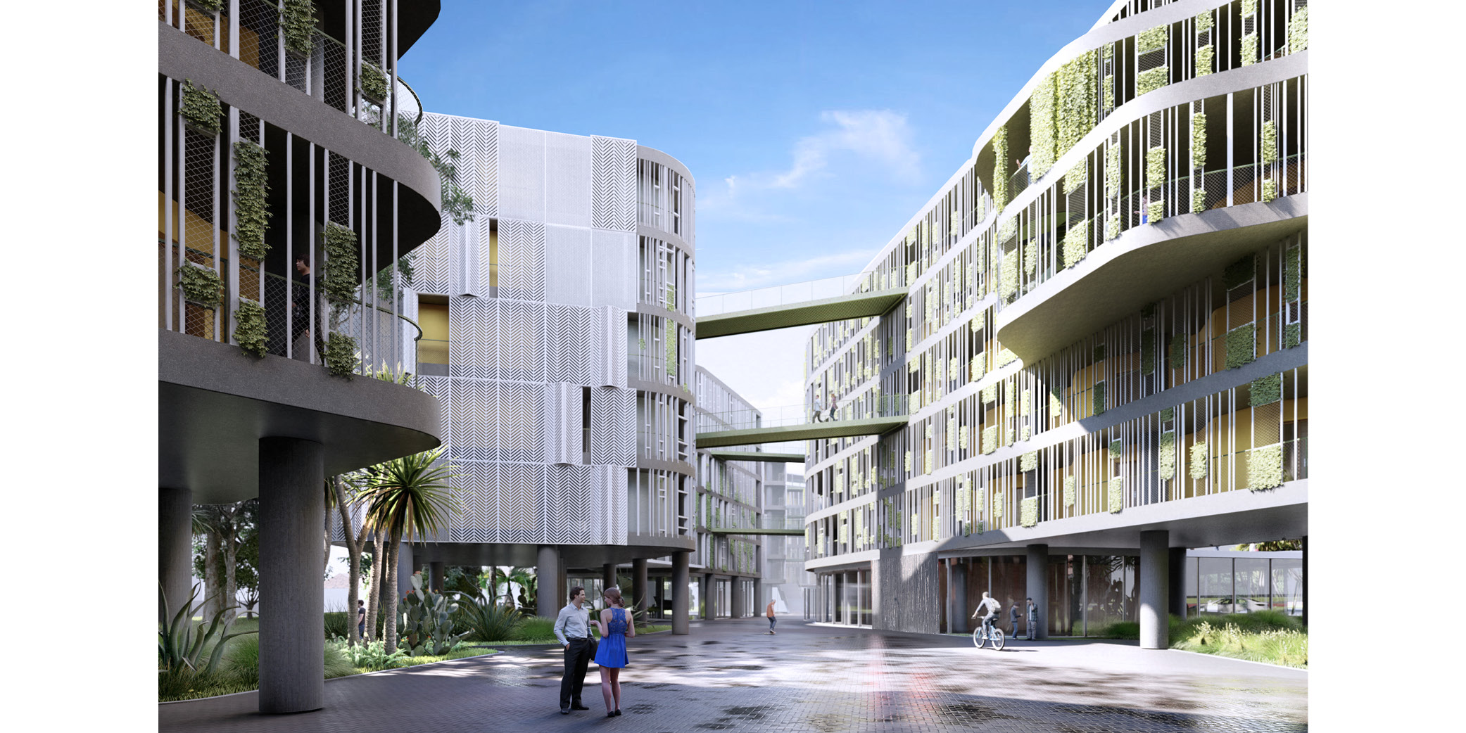 OCA architects Dormitories of the Cyprus University of Technology in Limassol - Κοιτώνες Κύπρος Λεμεσός Hernan Lleida Ruiz Bernardo Garcia Morales3
