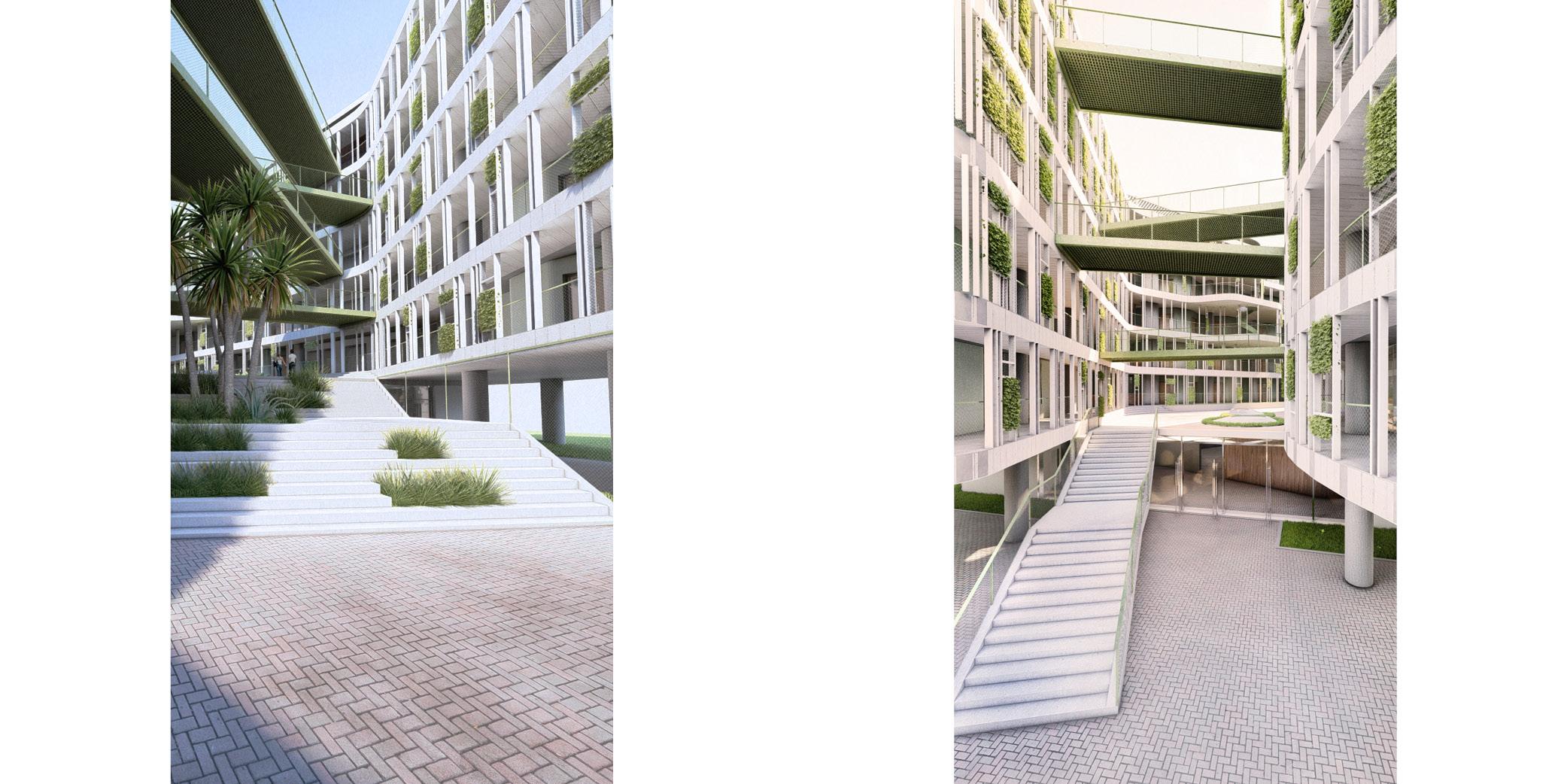 OCA architects Dormitories of the Cyprus University of Technology in Limassol - Κοιτώνες Κύπρος Λεμεσός Hernan Lleida Ruiz Bernardo Garcia Morales5