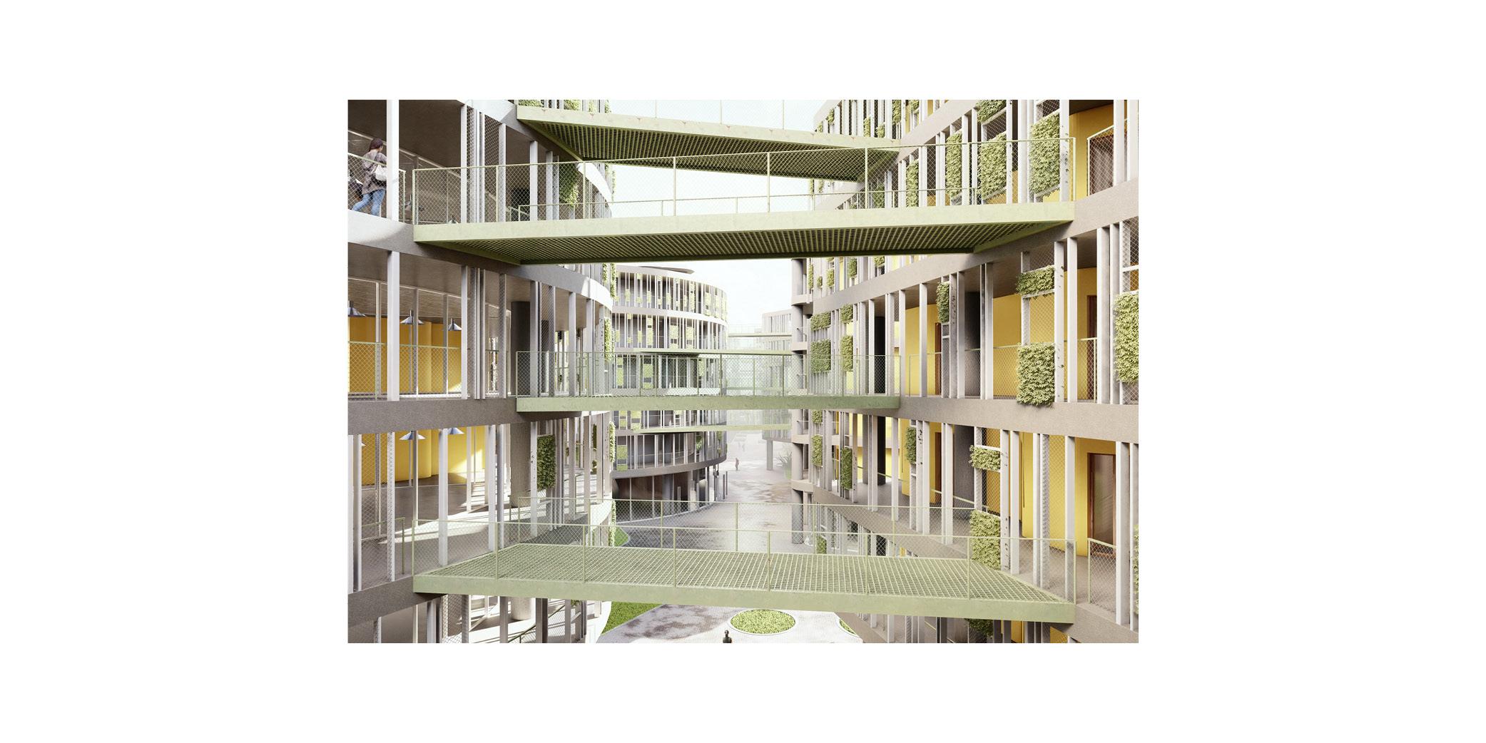 OCA architects Dormitories of the Cyprus University of Technology in Limassol - Κοιτώνες Κύπρος Λεμεσός Hernan Lleida Ruiz Bernardo Garcia Morales6