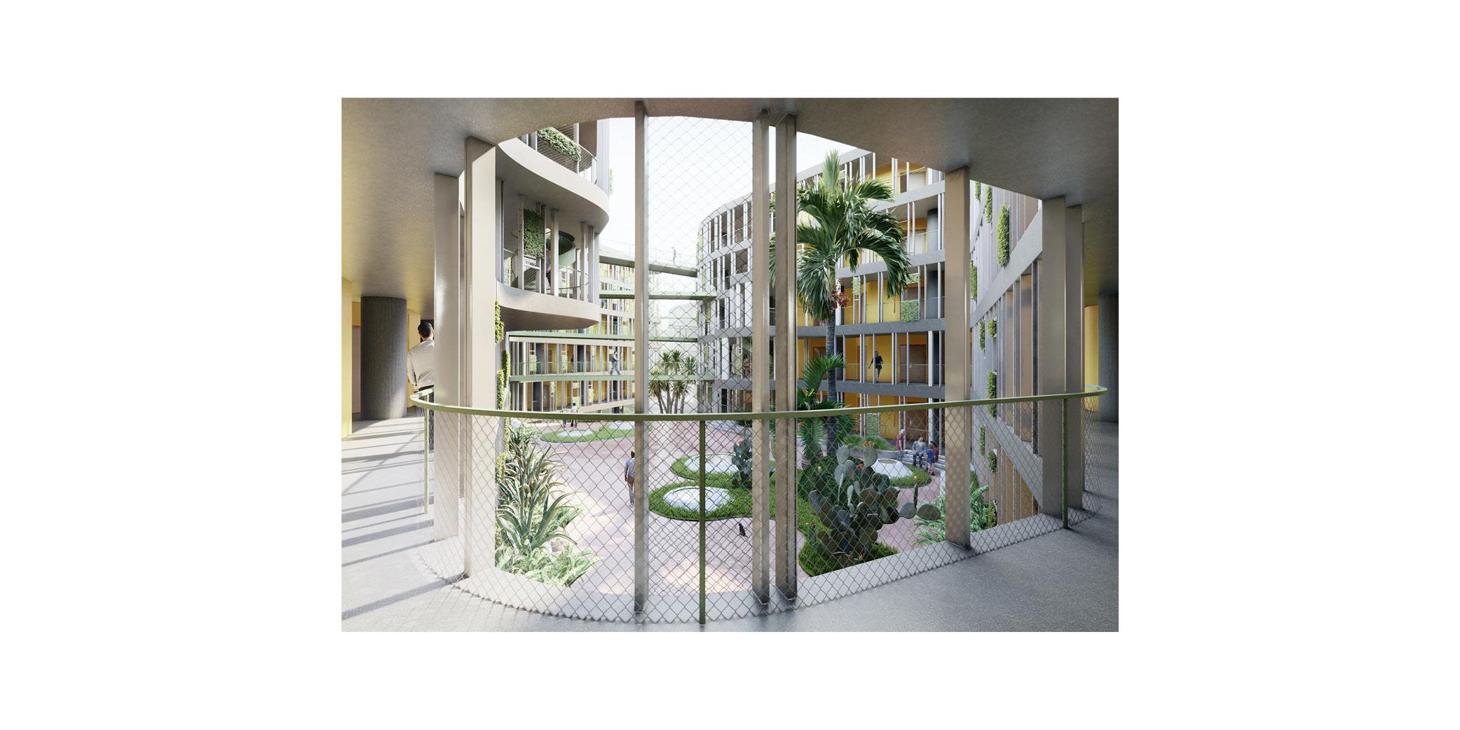 OCA architects Dormitories of the Cyprus University of Technology in Limassol - Κοιτώνες Κύπρος Λεμεσός Hernan Lleida Ruiz Bernardo Garcia Morales7