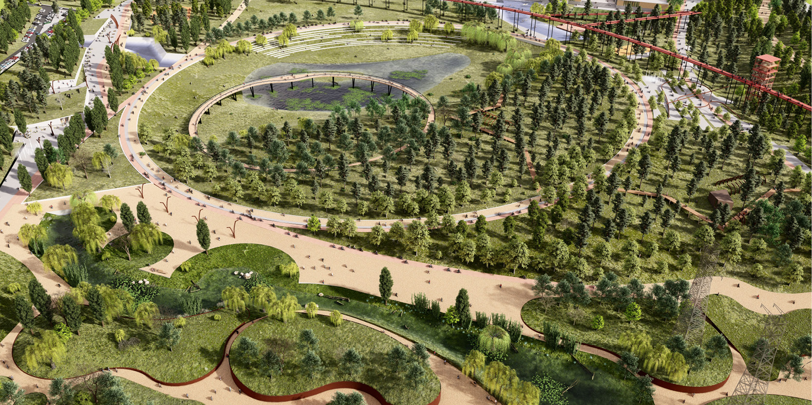 OCA architects Coziness Valley Долина Уюта competition Murmansk region Hernan Lleida Ruiz Bernardo Garcia Morales Miquel Perez Eric Moya3