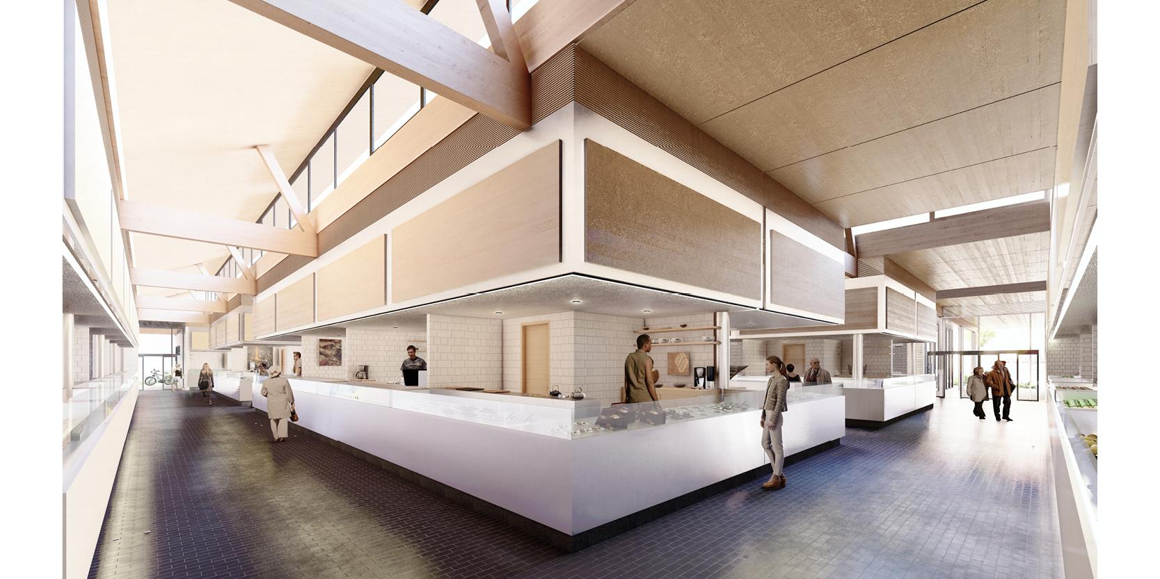 OCA architects TERRADAS arquitectos Mercado Municipal Almuñecar concurso proyectos arquitectura Hernan Lleida Ruiz Bernardo Garcia Morales7