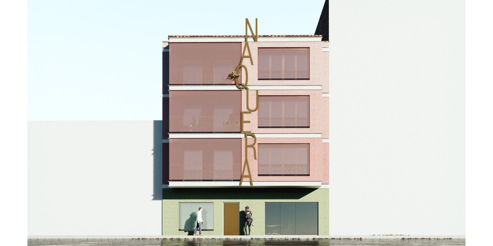 OCA architects arquitectos arquitectes Reforma energética de fachada de oficinas municipales en Naquera Valencia Hernan Lleida Bernardo Garcia