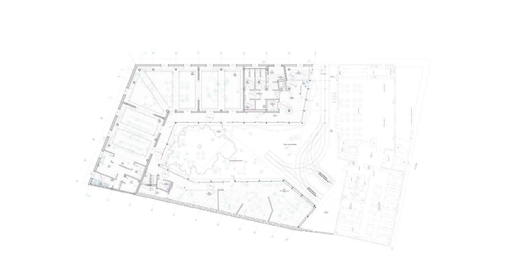 OCA architects arquitectos y DDA Centro de dia medicalizado para personas mayores en Paracuellos de Jarama Hernan Lleida Bernardo Garcia10