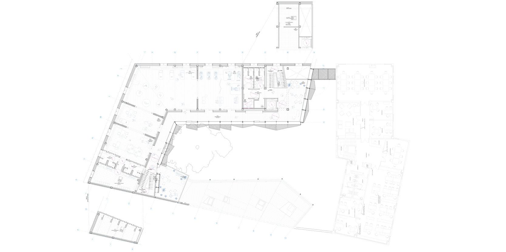 OCA architects arquitectos y DDA Centro de dia medicalizado para personas mayores en Paracuellos de Jarama Hernan Lleida Bernardo Garcia11