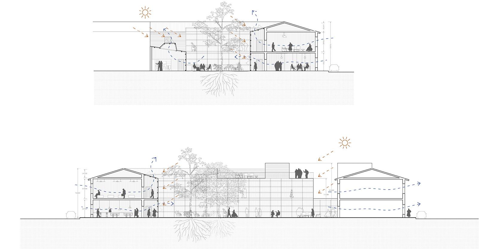 OCA architects arquitectos y DDA Centro de dia medicalizado para personas mayores en Paracuellos de Jarama Hernan Lleida Bernardo Garcia9