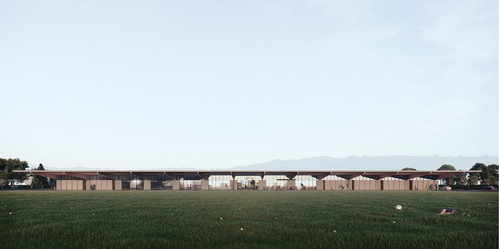 OCA architects arquitectos y Ilaria Egidi Concorso progettazione nuovo Centro Sportivo a Stabio Hernan Lleida Bernardo Garcia
