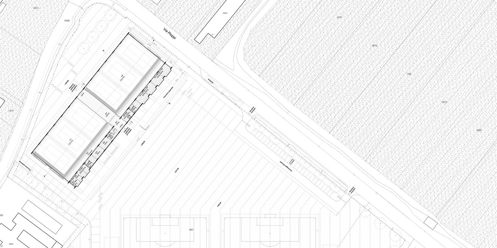 OCA architects arquitectos y Ilaria Egidi Concorso progettazione nuovo Centro Sportivo a Stabio Hernan Lleida Bernardo Garcia9