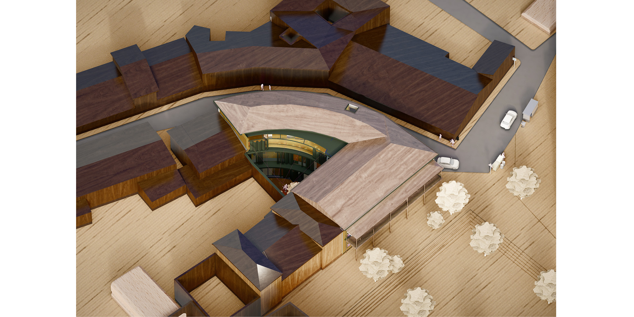 Daganzo City Hall Extention Architecture Arquitectura OCA ARCHITECTS OCA arquitectas Hernan Lleida Bernardo Garcia_1