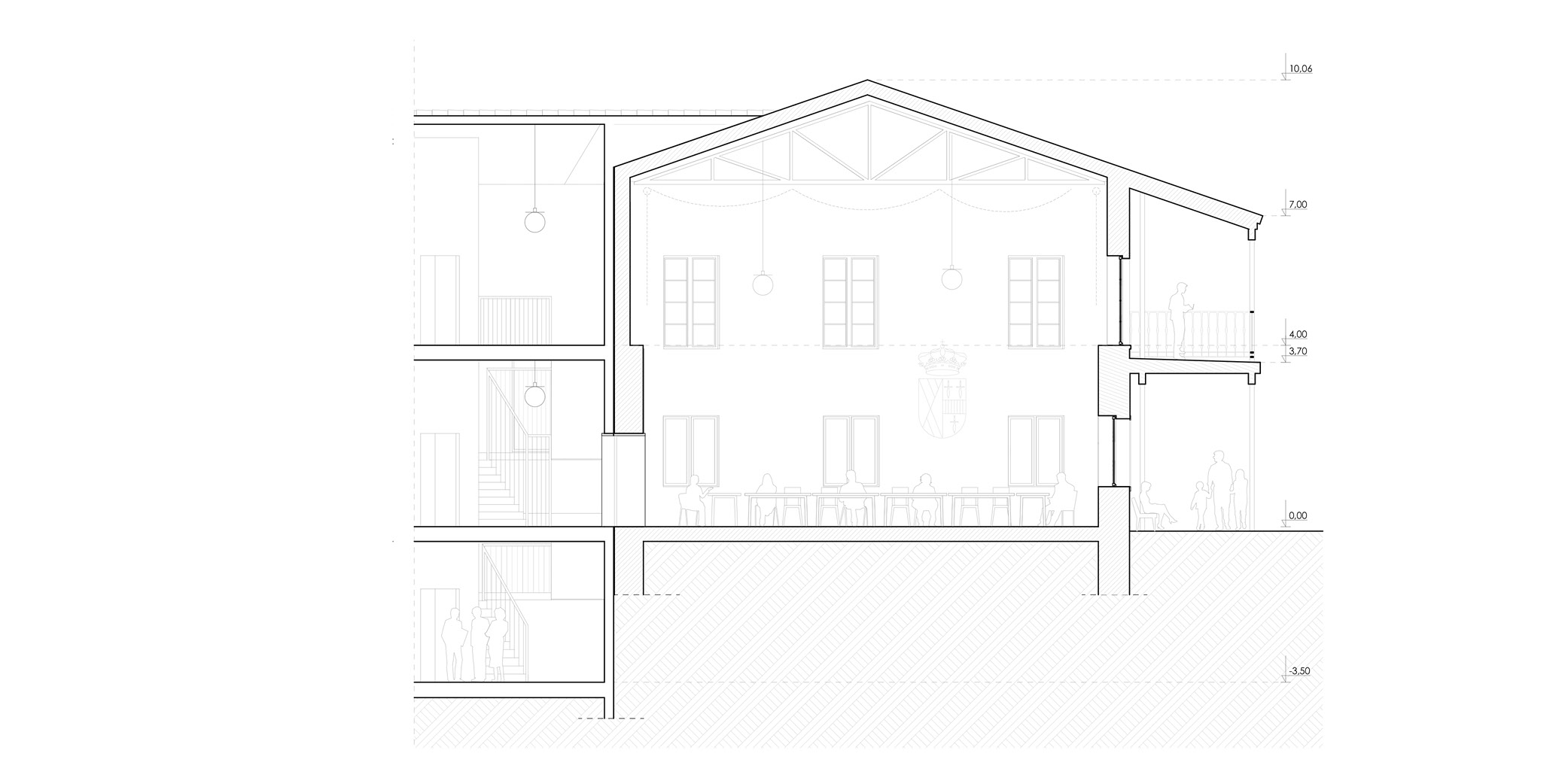 Daganzo City Hall Extention Architecture Arquitectura OCA ARCHITECTS OCA arquitectas Hernan Lleida Bernardo Garcia_9