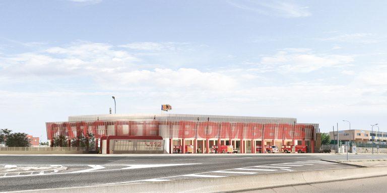 Parc de Bombers de Tarragona OCA ARCHITECTS OCA ARQUITECTOS Architecture design Hernan Lleida BErnardo Garcia1
