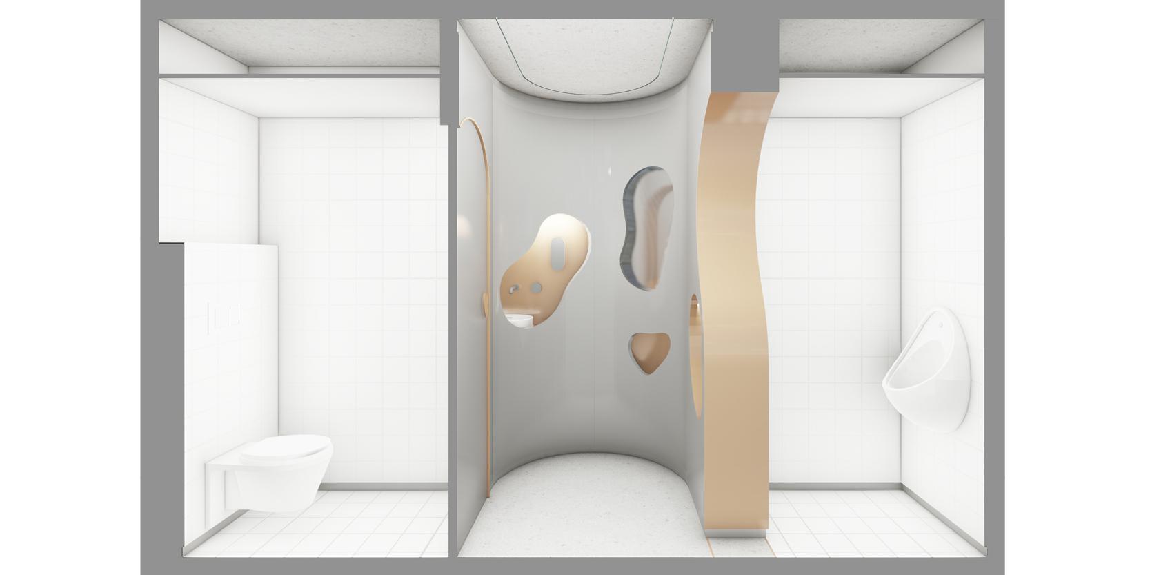 Reforma lavabos estadistica IDESCAT OCA Architects Arquitectura architecture interior design disseny interior Hernan Lleida Bernardo Garcia3
