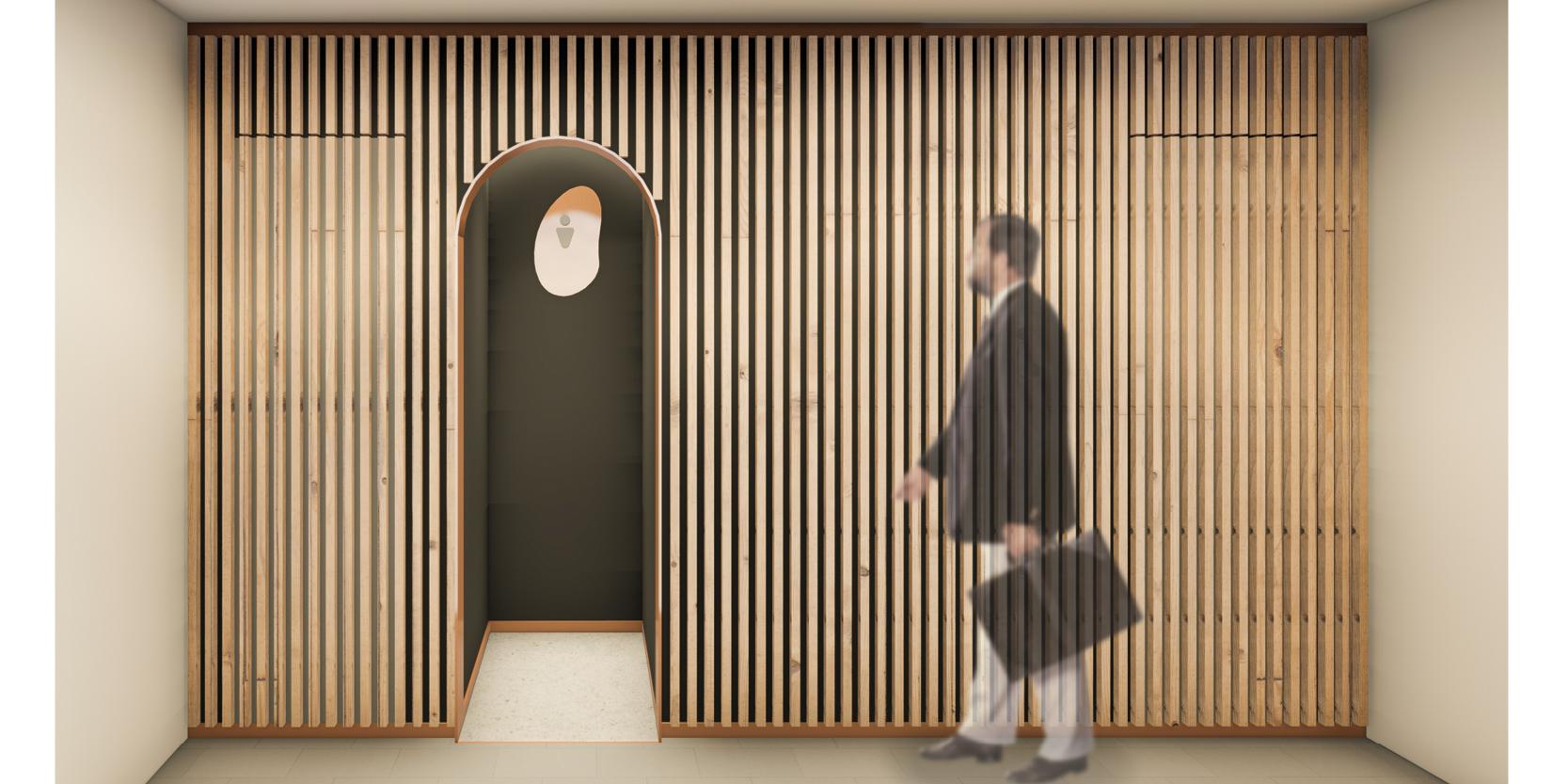 Reforma lavabos estadistica IDESCAT OCA Architects Arquitectura architecture interior design disseny interior Hernan Lleida Bernardo Garcia4