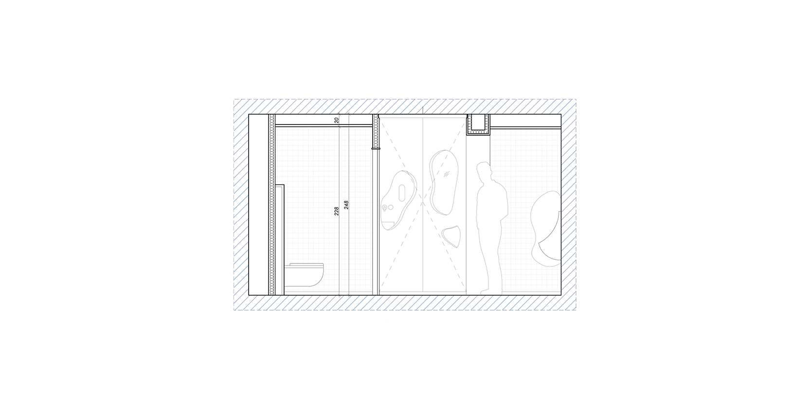 Reforma lavabos estadistica IDESCAT OCA Architects Arquitectura architecture interior design disseny interior Hernan Lleida Bernardo Garcia7