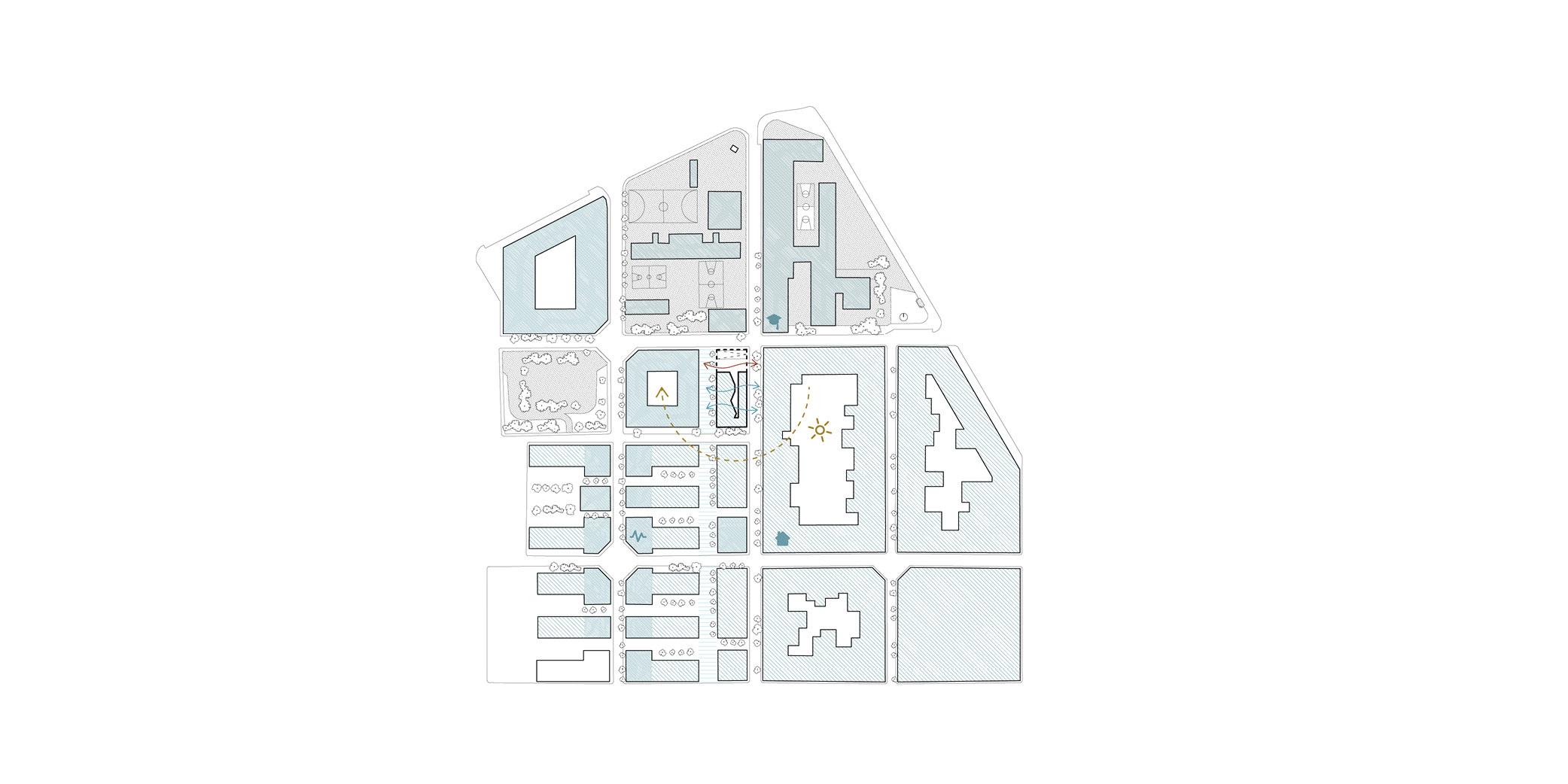 Terrasa housing OCA ARCHITEctS OCA ARQUITECTOS architecture design Hernan Lleida Bernardo Garcia 1