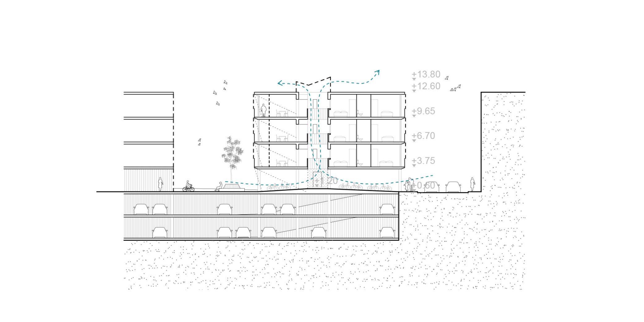 Terrasa housing OCA ARCHITEctS OCA ARQUITECTOS architecture design Hernan Lleida Bernardo Garcia 4